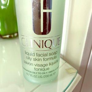 Clinique Liquid Facial Soap 6.7 fl. oz.  - OPENED